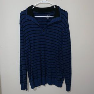 Black and Blue American Eagle Sweater Size XL
